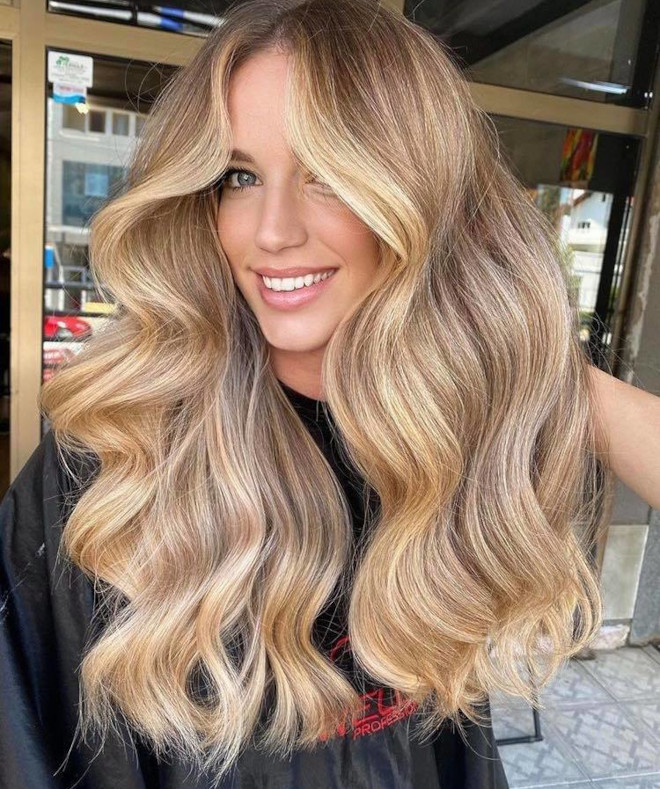 blonde on a dimmer is fall's prettiest hair color if you want to lighten up 1