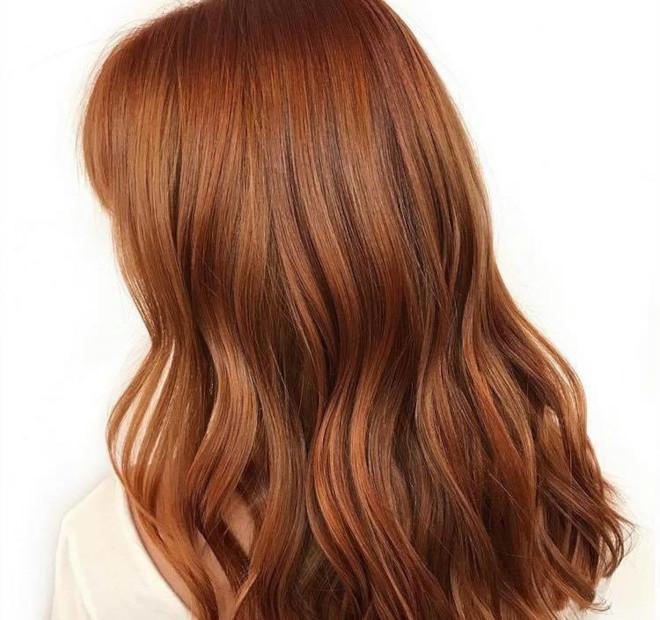 cinnamon brown hair trend 5
