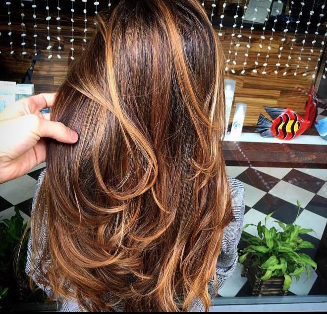 cinnamon brown hair trend 6
