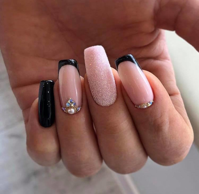 easy french manicure ideas you can diy 6
