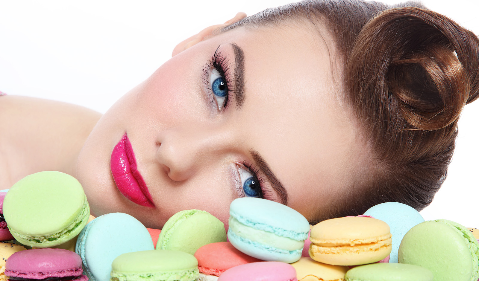 going-back-to-baby-skin-woman-on-colorful-cookies-with-beautiful-sking