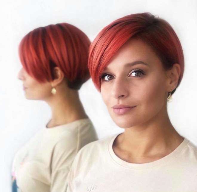 short haircuts that look feminine and elegant 5