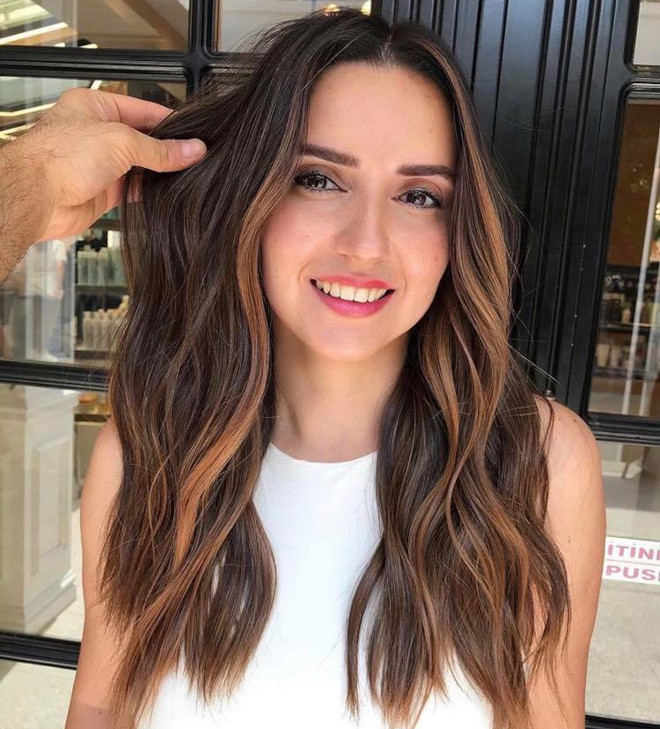 sunkissed brunette is the perfect hair color solution in case of second lockdown 1