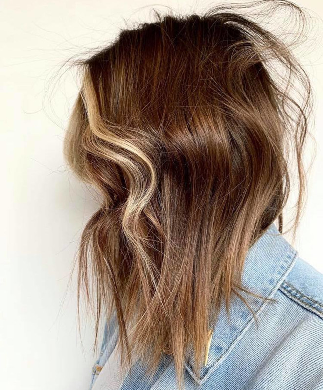 sunkissed brunette is the perfect hair color solution in case of second lockdown 6