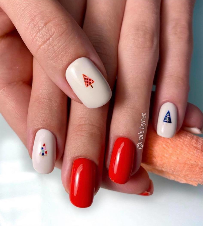 easy holiday nails 3