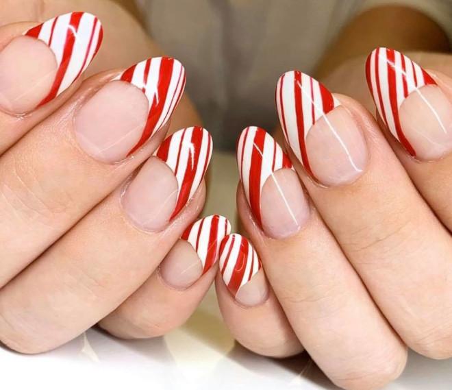 easy holiday nails 8