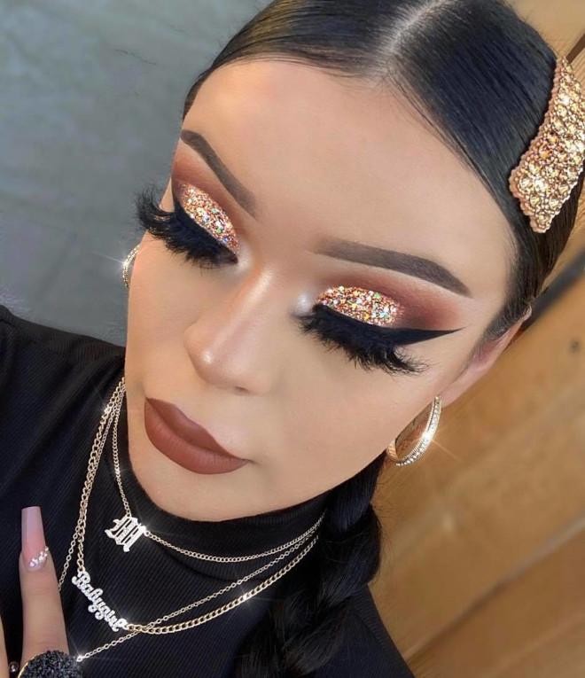 glamorous holiday makeup looks 4
