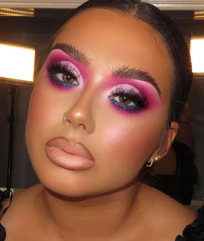 glamorous holiday makeup looks 5