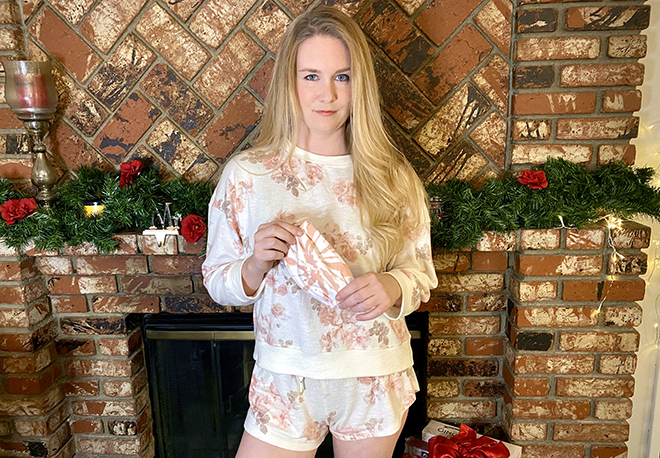 malorie-mackey-pajama-set-z-supply-malorie-standing-by-the-hearth-holiday-4
