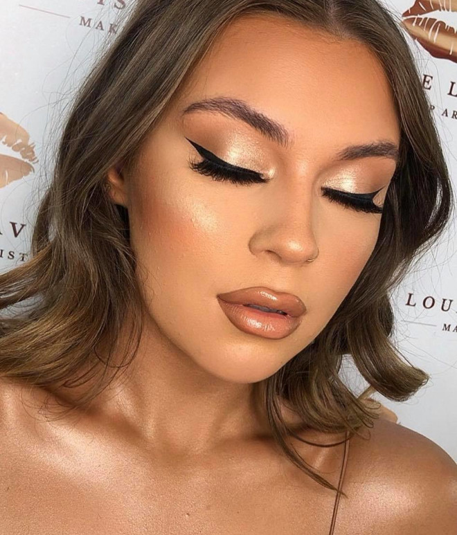 neutral holiday makeup looks 3
