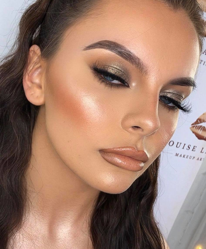 neutral holiday makeup looks 4
