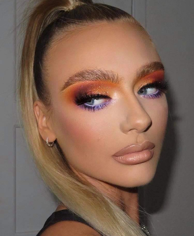 sexy holiday makeup looks 1