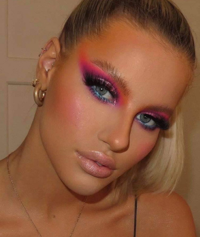 sexy holiday makeup looks 4
