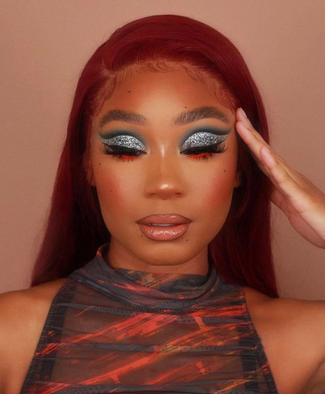 sexy holiday makeup looks 9