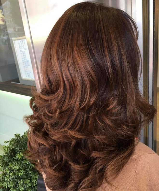 brown hair colors for winter