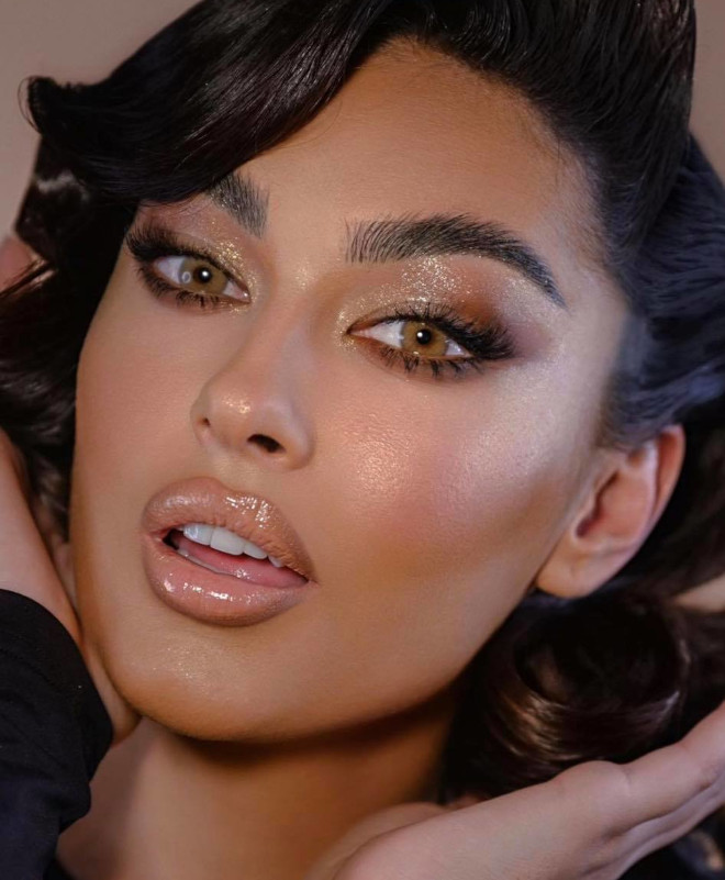 glamorous & easy new year's eve makeup looks 7