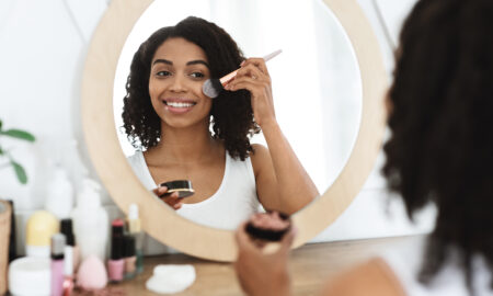 venus-viva-skin-resurfacing-all-you-need-to-know-main-image-woman-applying-makeup