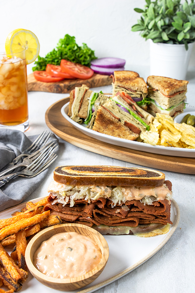 Reuben and Turkey Club