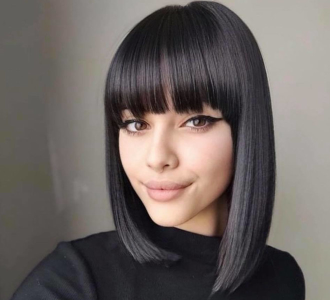 refresh your look this spring with these mesmerizing lob haircuts 7
