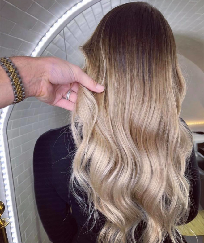 root melt hair color is the low-maintenance dye job trend that will make your life easier