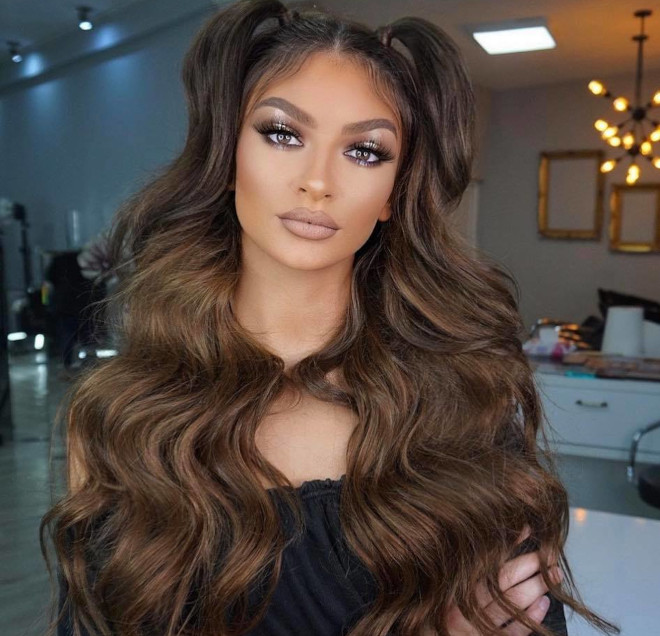 sexy half up half down hairstyles to refresh your look this spring