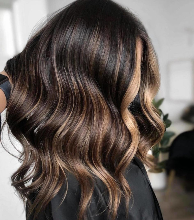 try some of these mesmerizing chocolate almond dye jobs to update your look for spring
