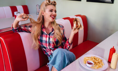 do-i-want-a-beach-curl-or-a-pin-curl-woman-in-pin-curl-at-diner