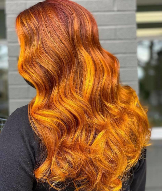 earthy hair colors are trending for spring