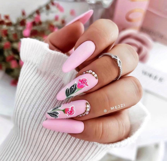 pink nails are taking over internet- here are the best pink nail designs to recreate