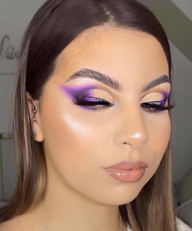 purple makeup is a major hit for spring - here are some gorgeous ideas to recreate