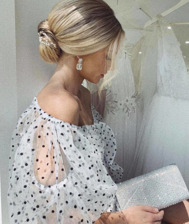 attention brides-to-be - we found the prettiest wedding hairstyles for short hair