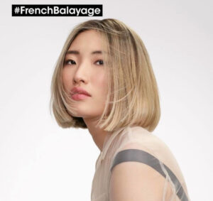 bringing balayage back to its roots - the french balayage hair color trend