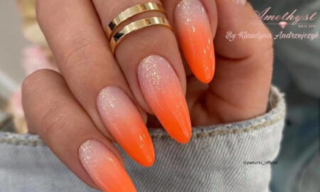 Refresh Your Spring Look With Orange Nails