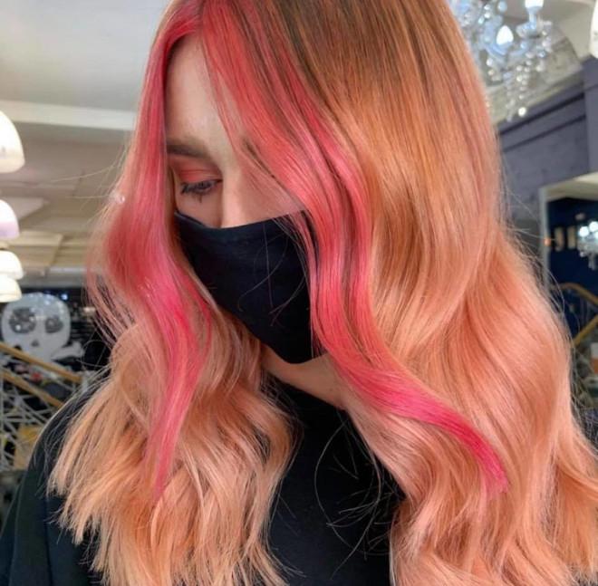 rose aperol spritz hair is the prettiest summer hair trend 3