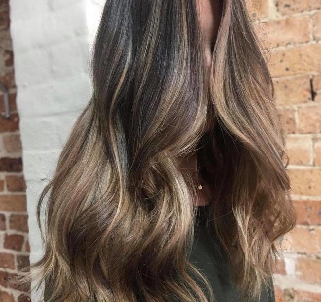 biscuit brunette hair color is the low-maintenance trend that will refresh your summer look