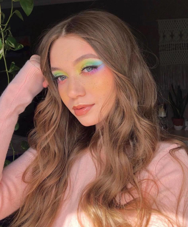 pretty pastel makeup ideas to copy for summer