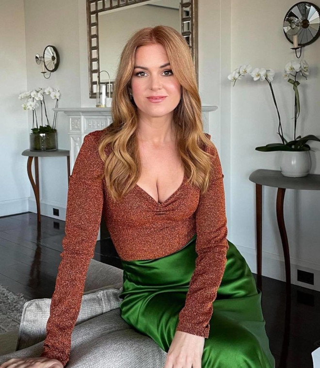 rusty red hair colors are in for summer according to celebs