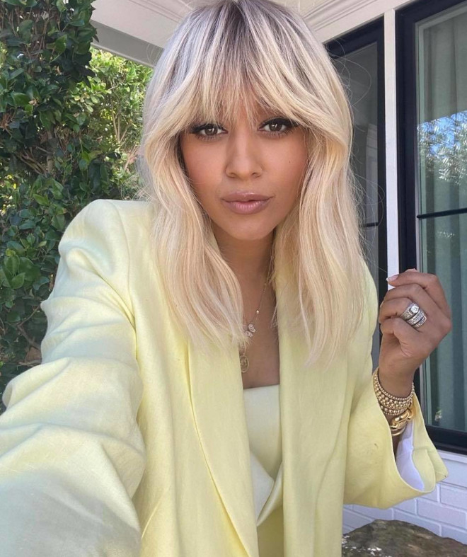 the coconut candy hair-color trend for summer looks as good as it sounds