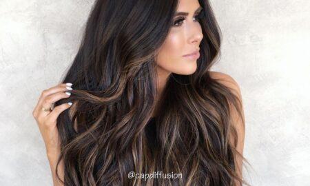 Chocolate Almond Hair Color