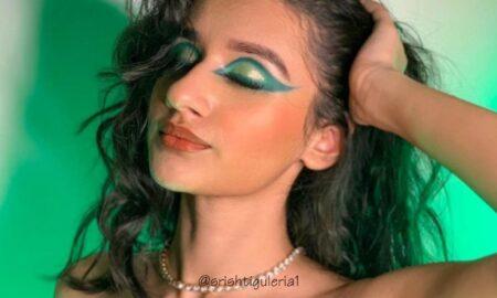 Green Eyeshadow Trend