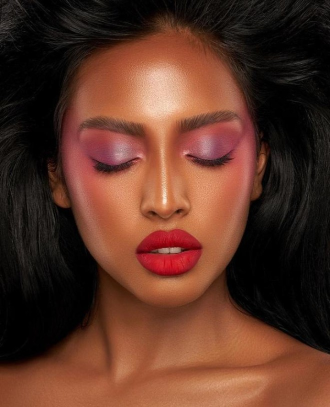 Rock Red Lipstick This Fall For A Dramatic Look