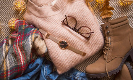 fall-fashion-guide-edition-sweater-boots-watch-scarf-cute-fall-clothes-piled-up-1160x720