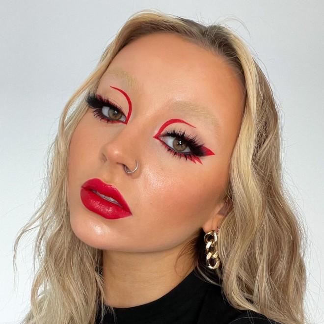 Monochrome Makeup Looks