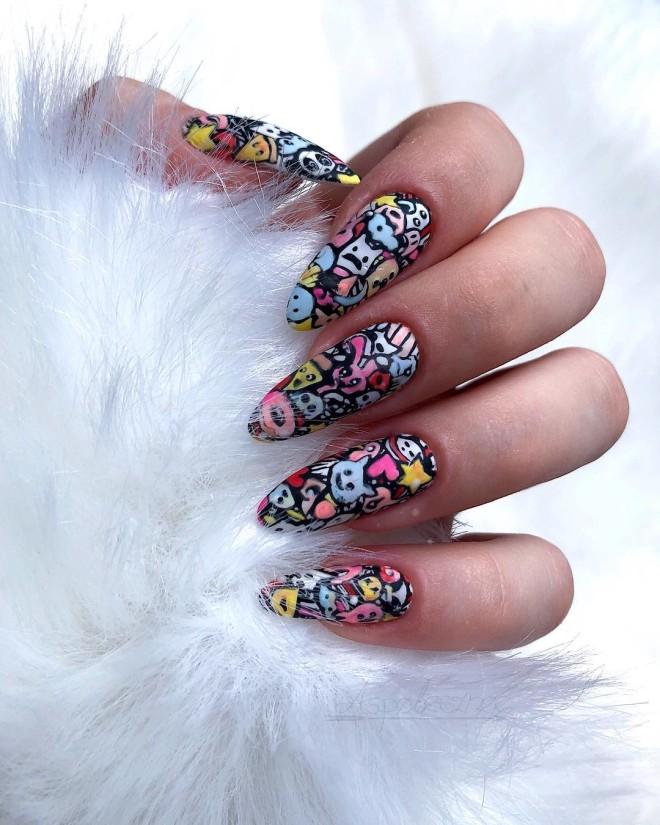 Back-to-School Nail Art Designs