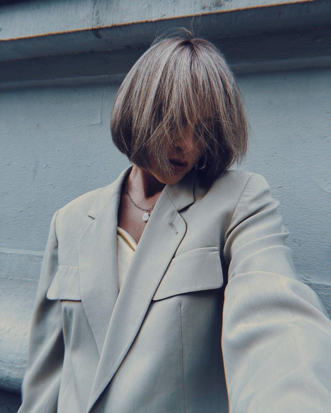 The Most Blunt Bob Haircuts You Have to Try RN