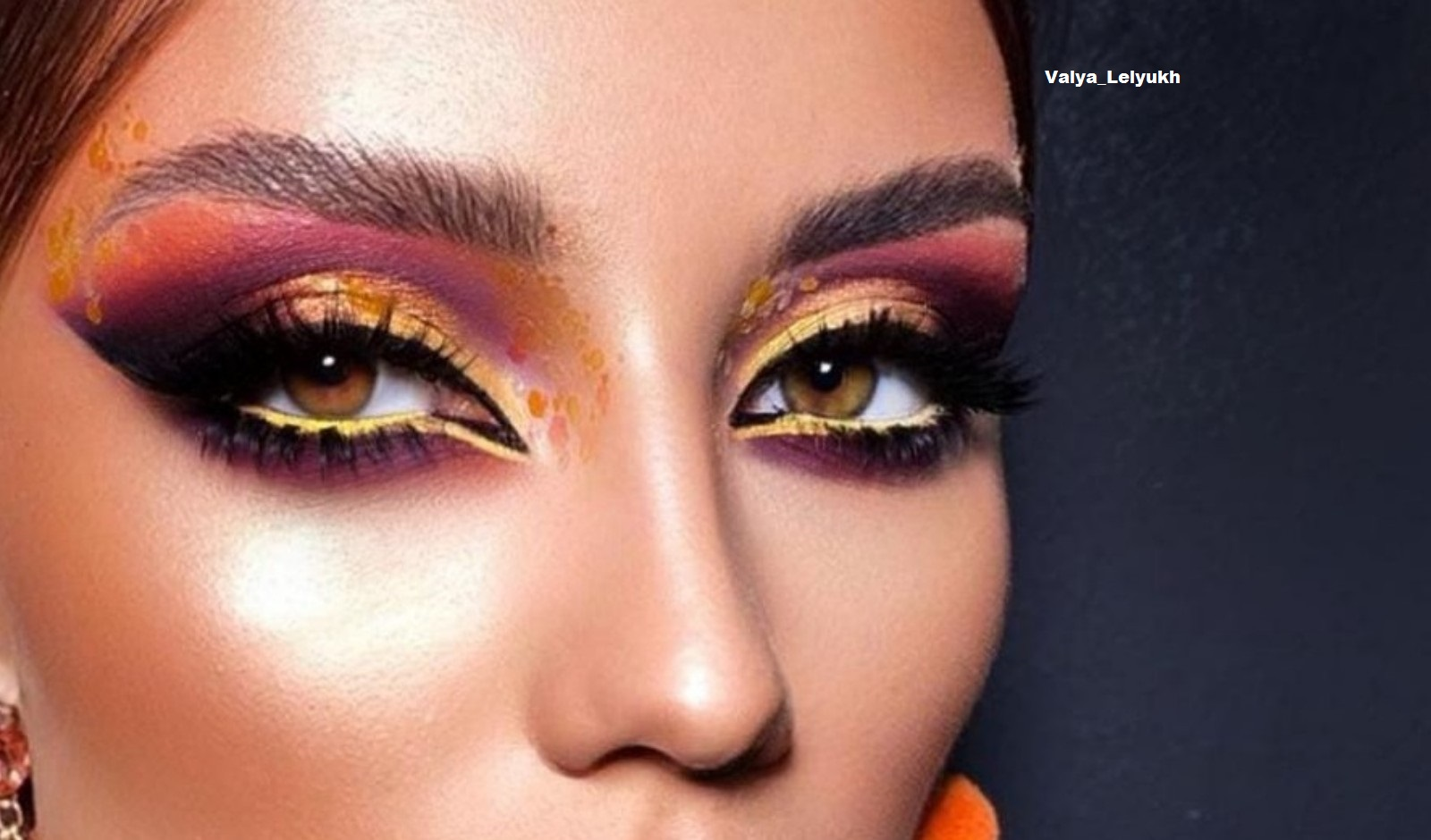 Get Inspired By Fall With These Pumpkin Spice Makeup Looks 6